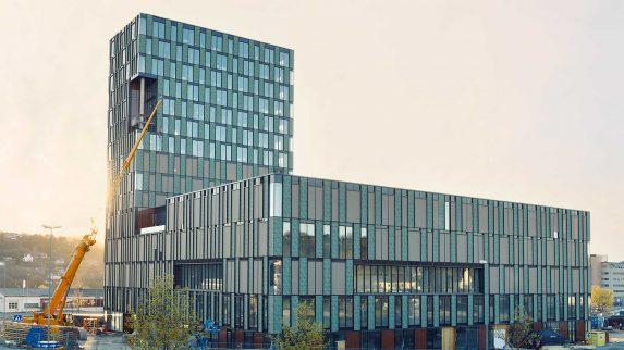 Markant bygg i Trondheim