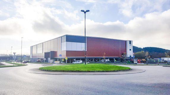 Norges største bedriftsidrettshall