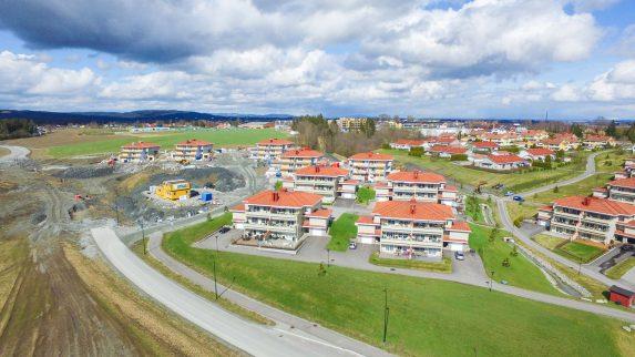 10 boliger på Gjerdrum