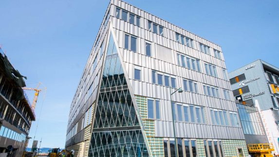 Energivennlig bygg på Brattørkaia