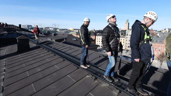 Sikker ferdsel på tak