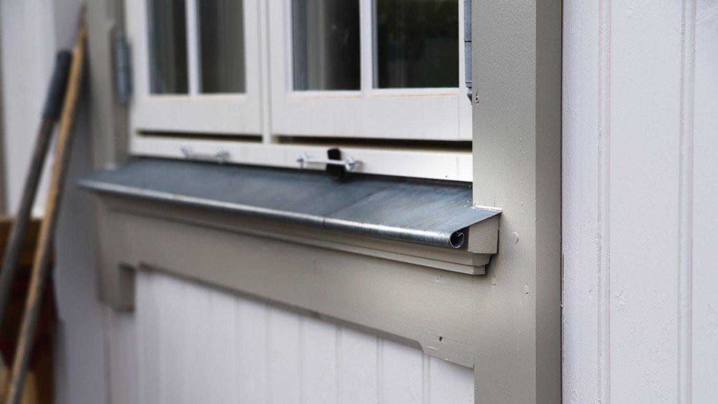 Detaljer rundt vindu fra blikkenslageren er medvirkende til prisen.