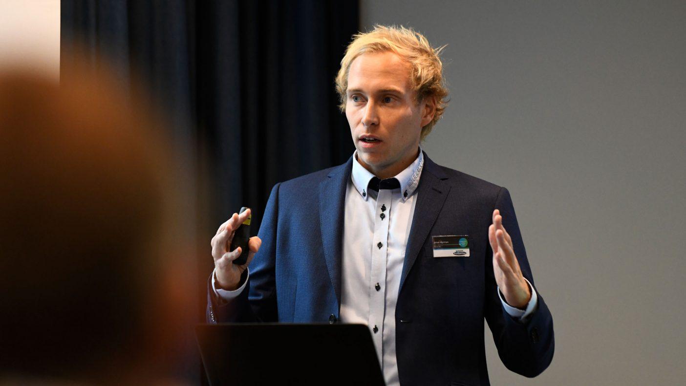 Johan Myrmann har vært med på å utvikle Eco Nordic.