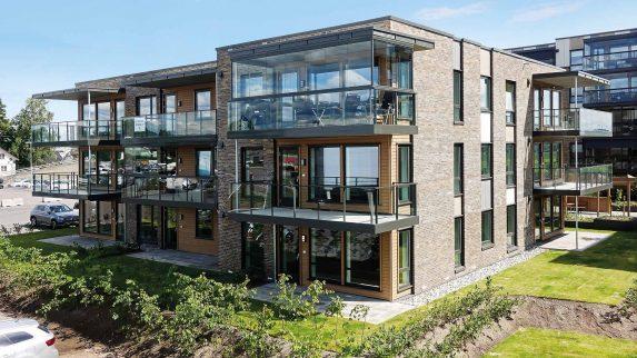 To nye blokker med leiligheter