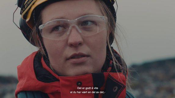 NTNU lager film med blikkenslager-lærling