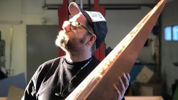 Kunst i kobber og stål i prestisjeprosjekt