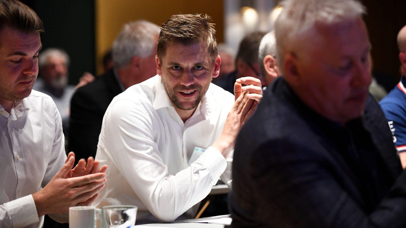 Jon Freitag ble valgt inn som nytt styremedlem fra sør.