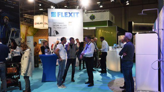 Flexit lanserer nyheter på Bygg Reis Deg