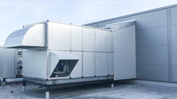 Nytt kontorbygg med produksjonslokale
