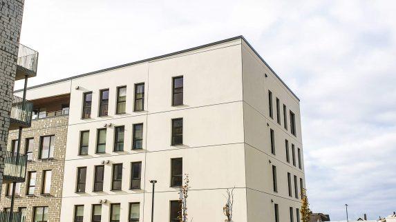 Ny leilighetsblokk i Sandnes