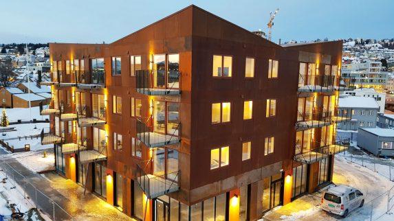 Rust-fasade skaper reaksjoner