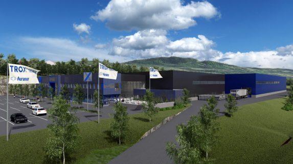 Ny fabrikk med forsknings- og kompetansesenter