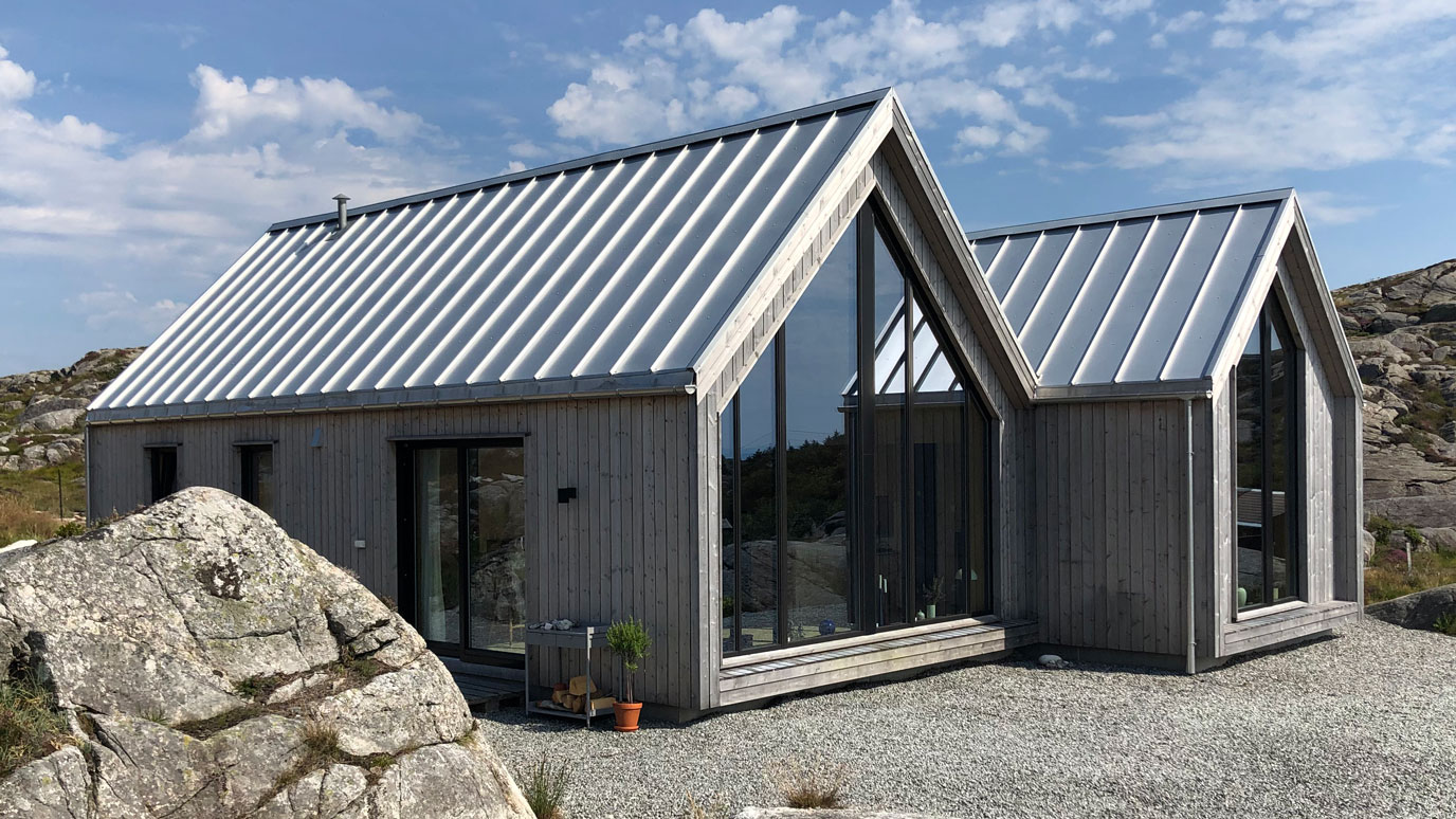 Plannja Trend brukes på ulike bygg, og vil fra nyttår også komme i aluminium.