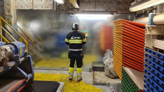 Krevende offshore-jobber med stålplater