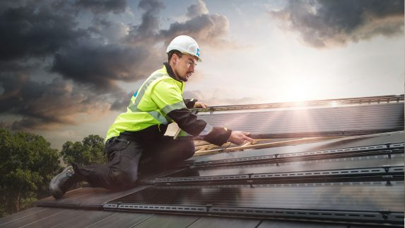 Ny løsning for solceller i takstein